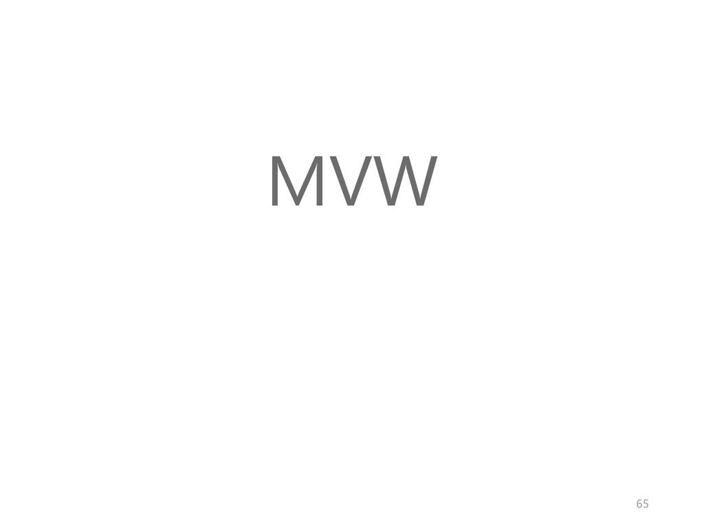 MVW 65