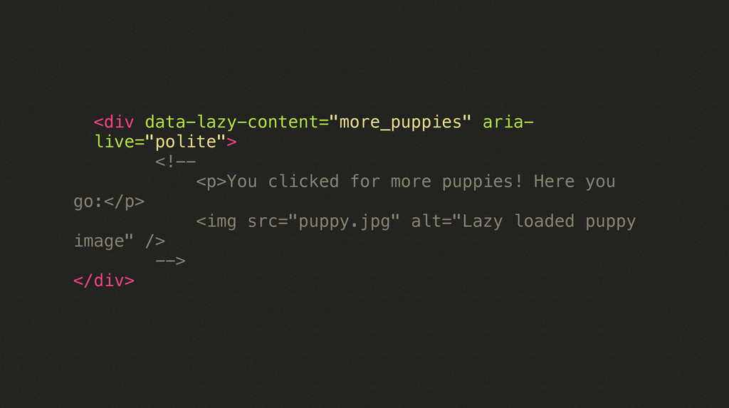 "<div data-lazy-content=""more_puppies"" aria- liv..."