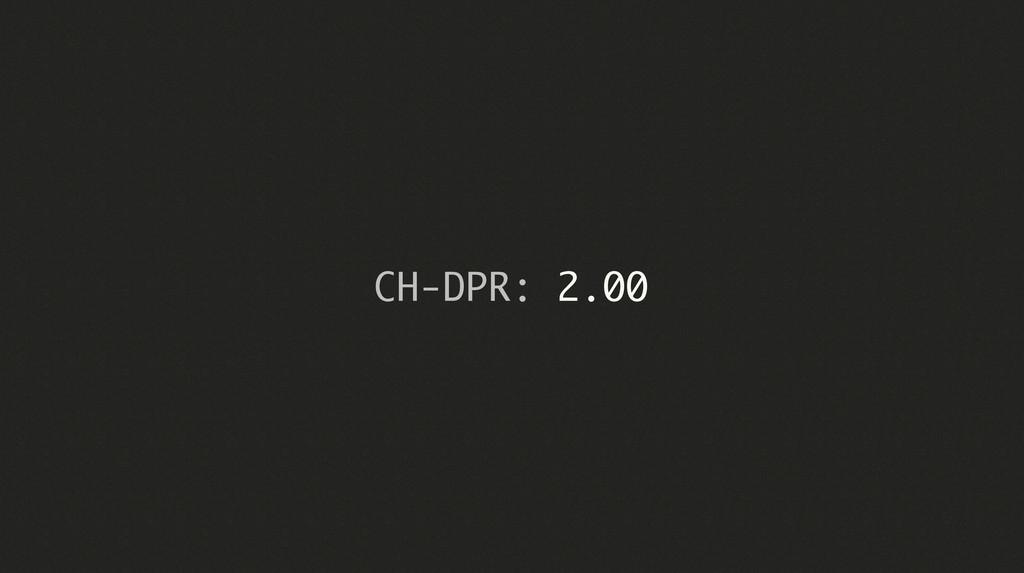 CH-DPR: 2.00