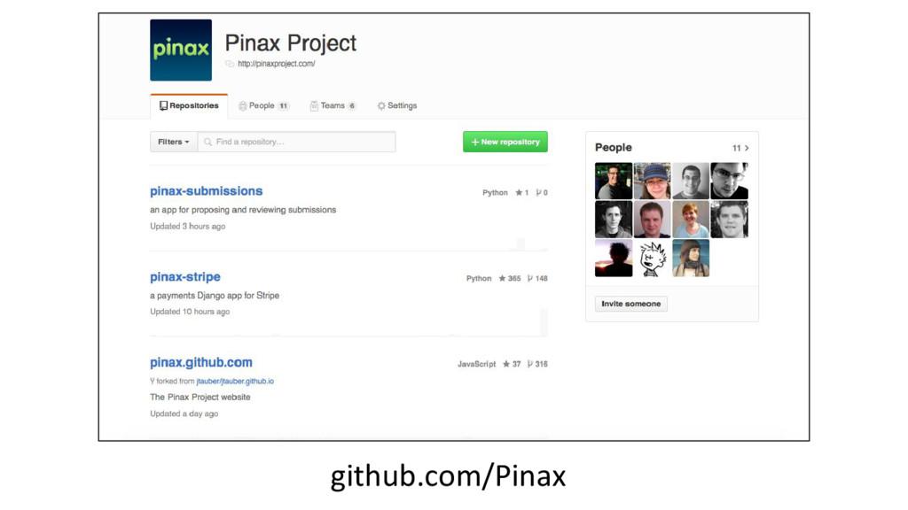 github.com/Pinax