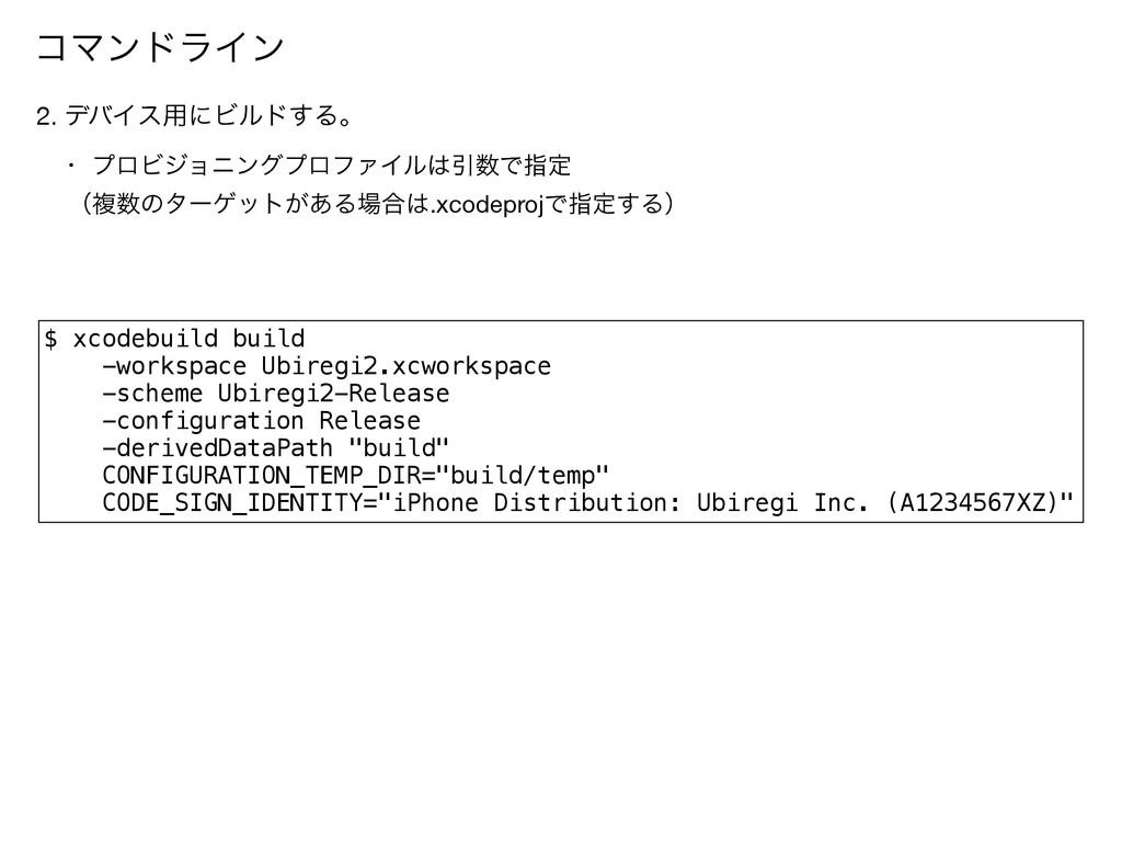 $ xcodebuild build -workspace Ubiregi2.xcworksp...