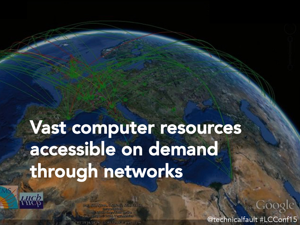 Vast computer resources accessible on demand th...