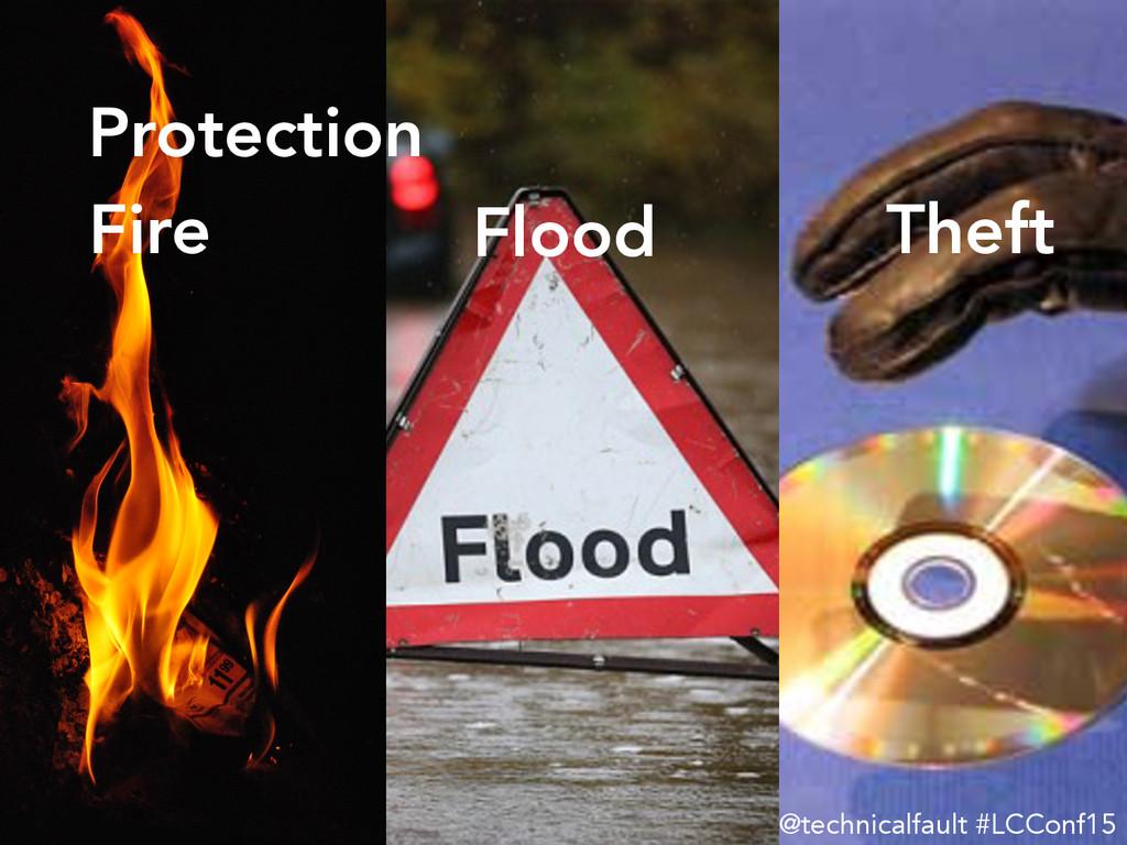 @technicalfault #LCConf15 Fire Flood Theft P...