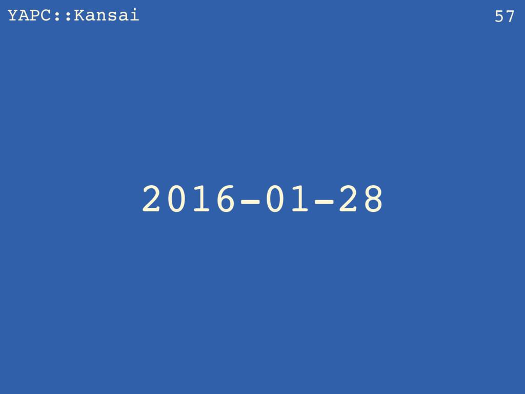 YAPC::Kansai 2016-01-28 57