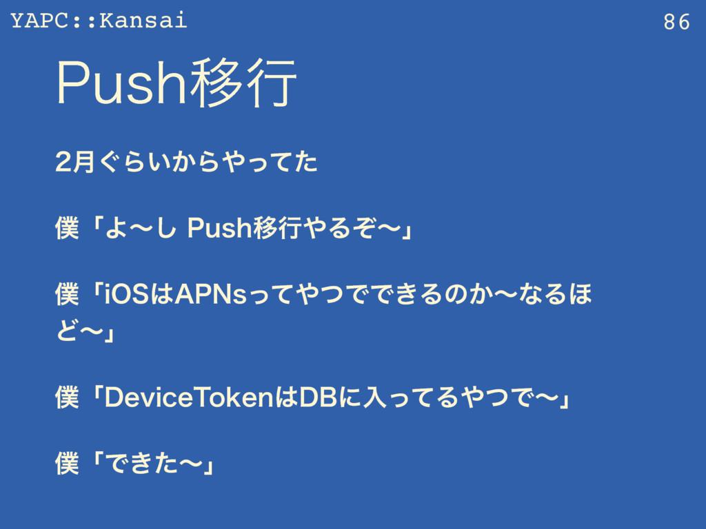YAPC::Kansai 1VTIҠߦ ݄͙Β͍͔Βͬͯͨ ʮΑʙ͠1VTIҠߦΔ...