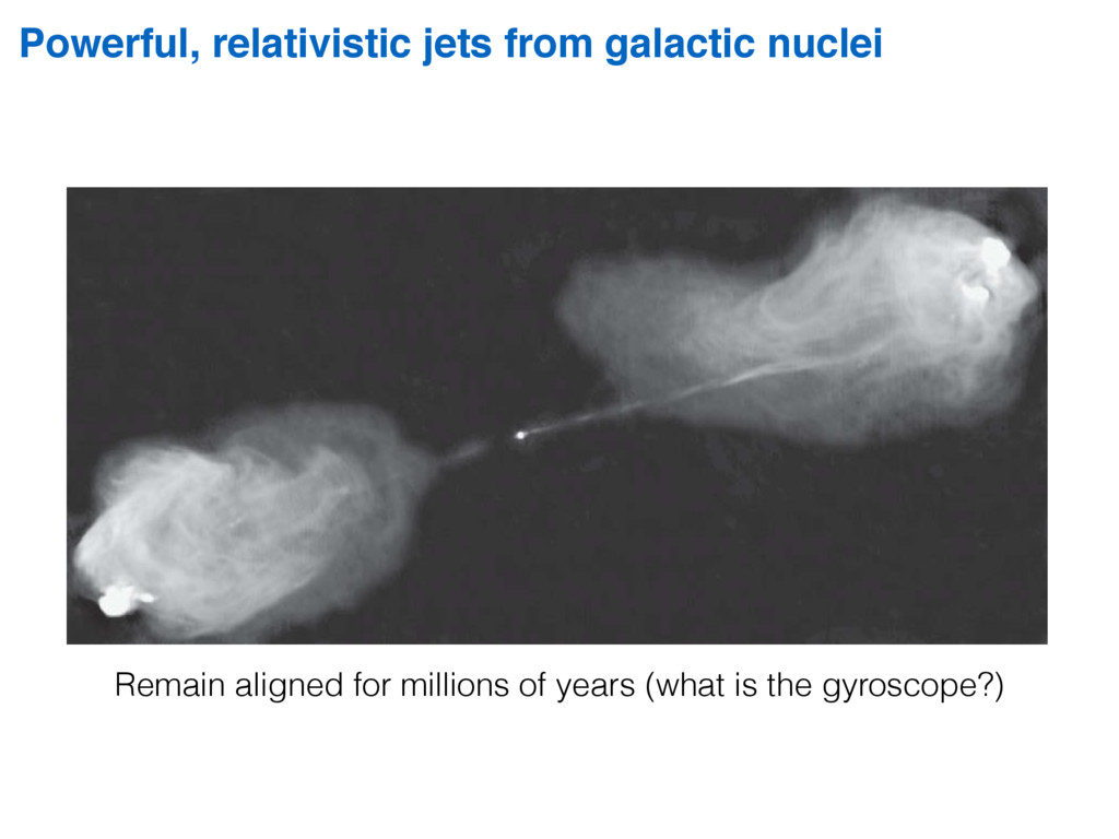 Powerful, relativistic jets from galactic nucle...