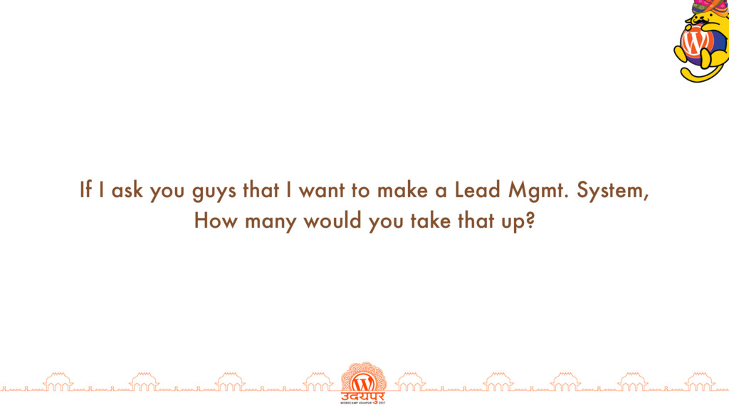 If I ask you guys that I want to make a Lead Mg...