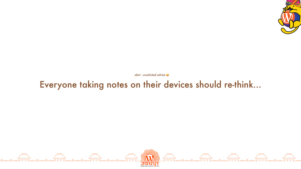 Everyone taking notes on their devices should r...