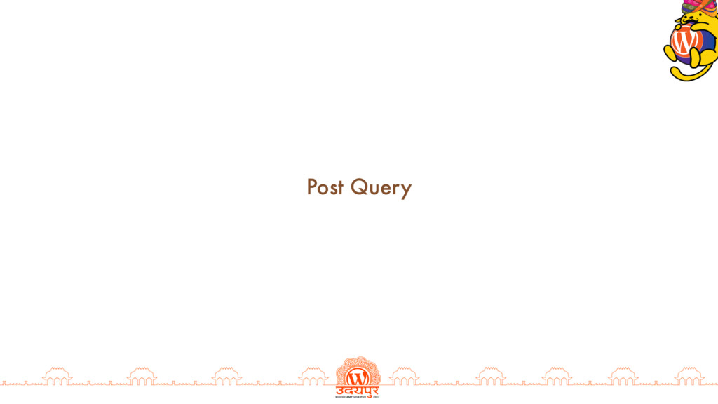 Post Query