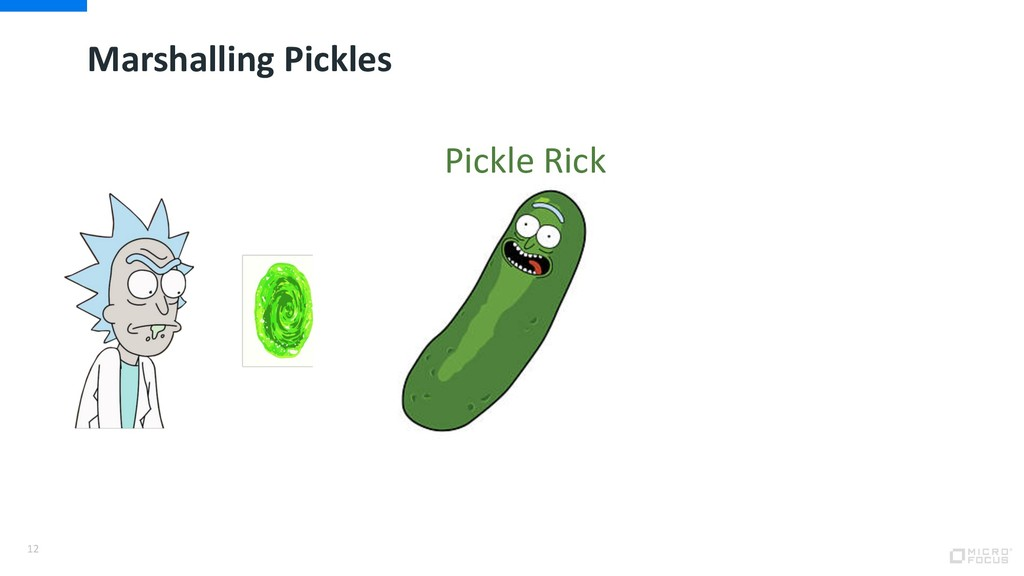 Marshalling Pickles 12 Pickle Rick