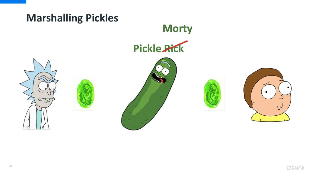 Marshalling Pickles 18 Pickle Rick Morty