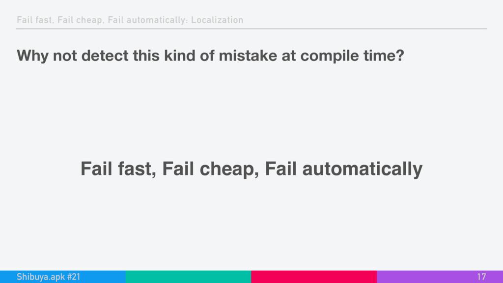 Fail fast, Fail cheap, Fail automatically: Loca...
