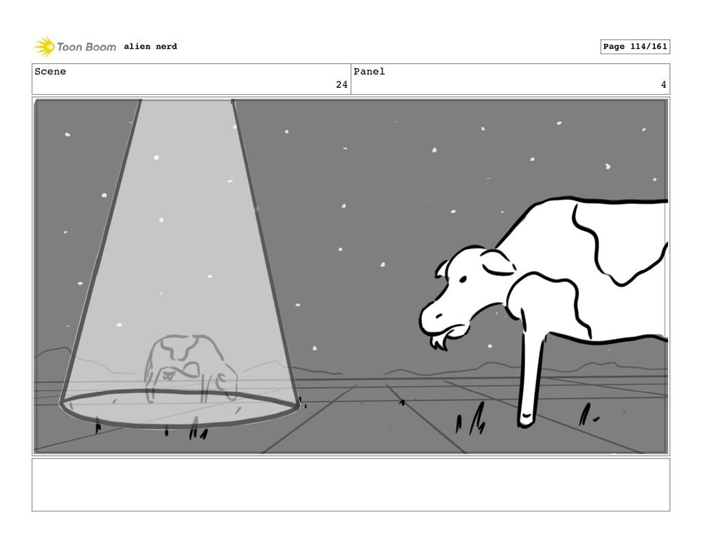 Scene 24 Panel 6 alien nerd Page 116/161
