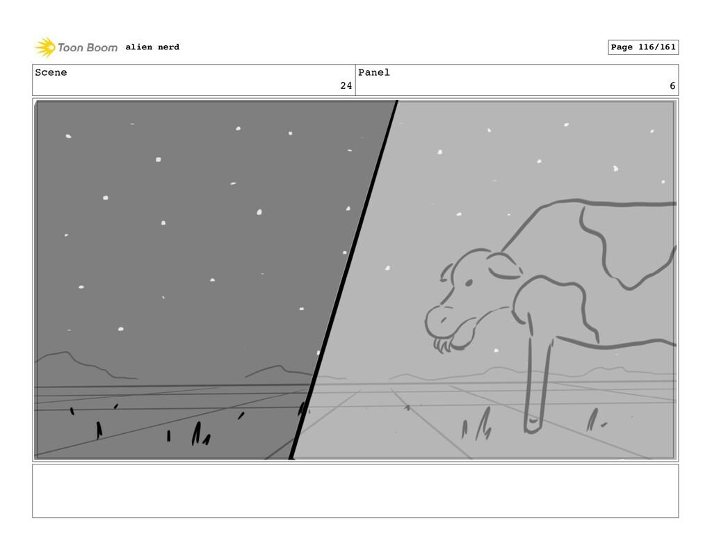 Scene 25 Panel 2 alien nerd Page 118/161