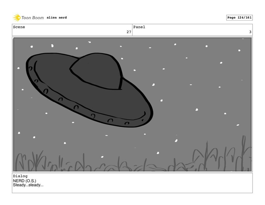 Scene 27 Panel 5 alien nerd Page 126/161