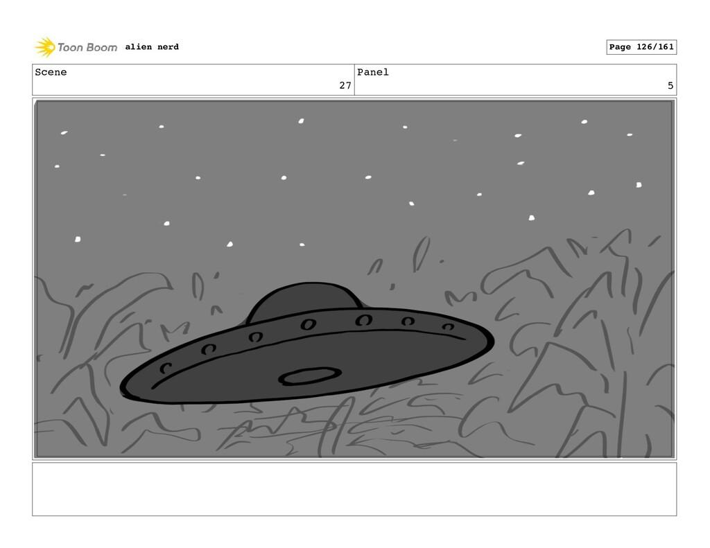 Scene 27 Panel 7 alien nerd Page 128/161
