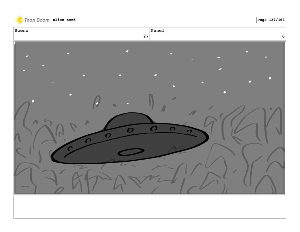 Scene 28 Panel 1 alien nerd Page 129/161