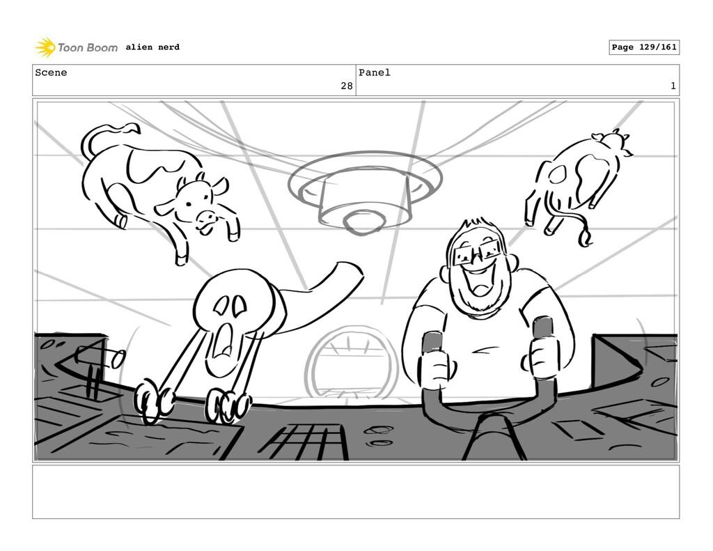 Scene 28 Panel 3 alien nerd Page 131/161
