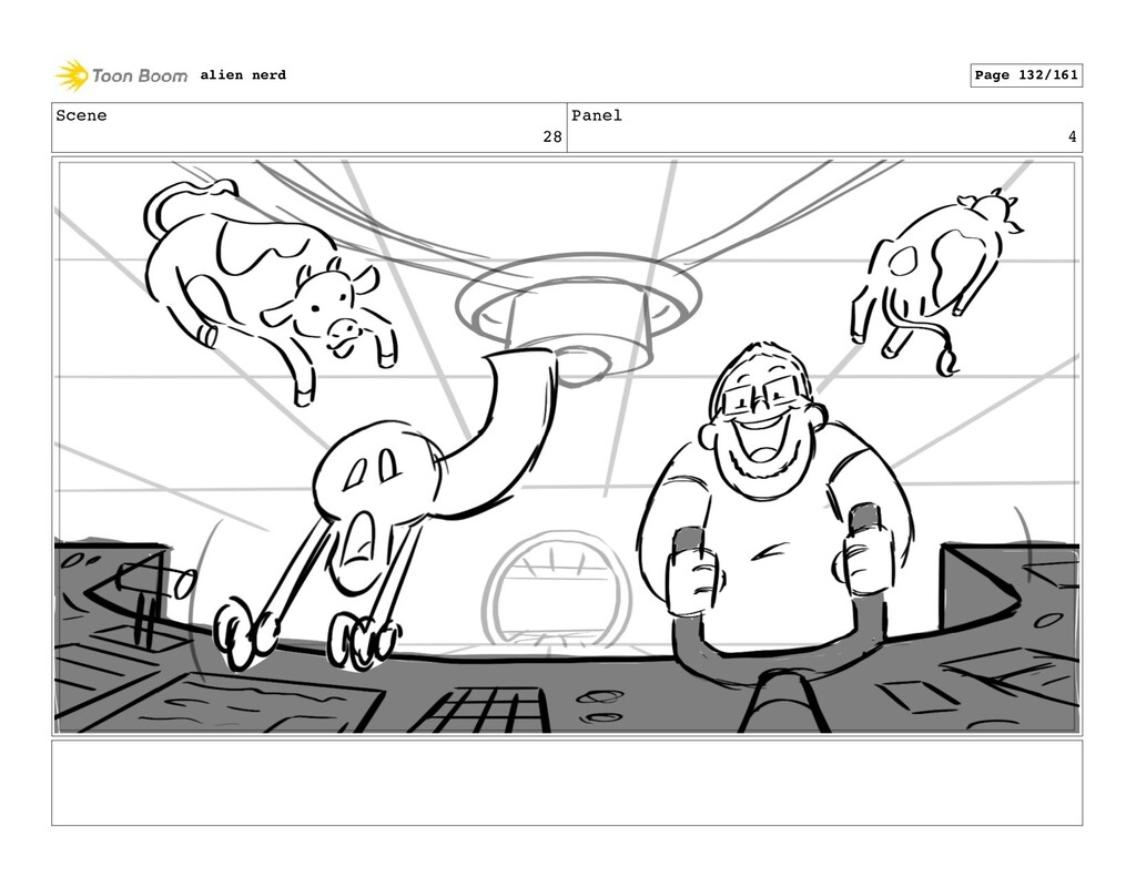 Scene 29 Panel 2 alien nerd Page 134/161