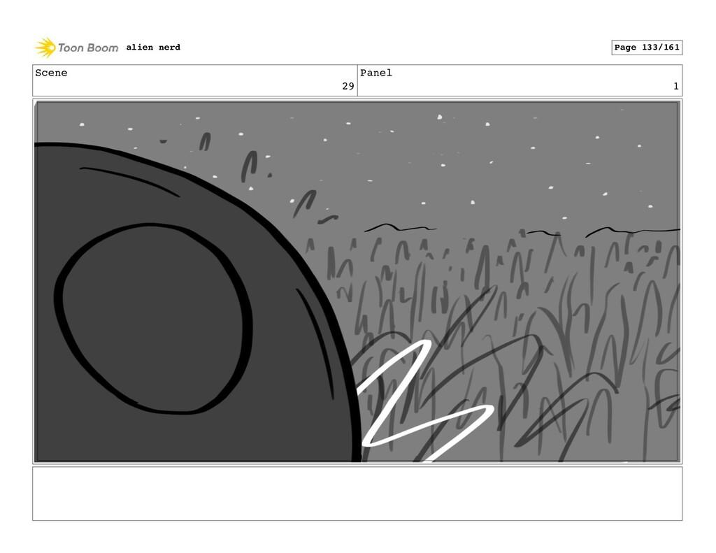 Scene 29 Panel 3 alien nerd Page 135/161