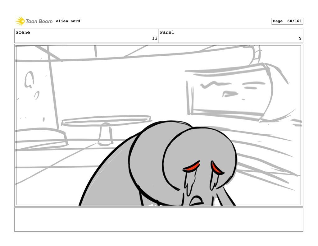 Scene 14 Panel 1 alien nerd Page 62/161