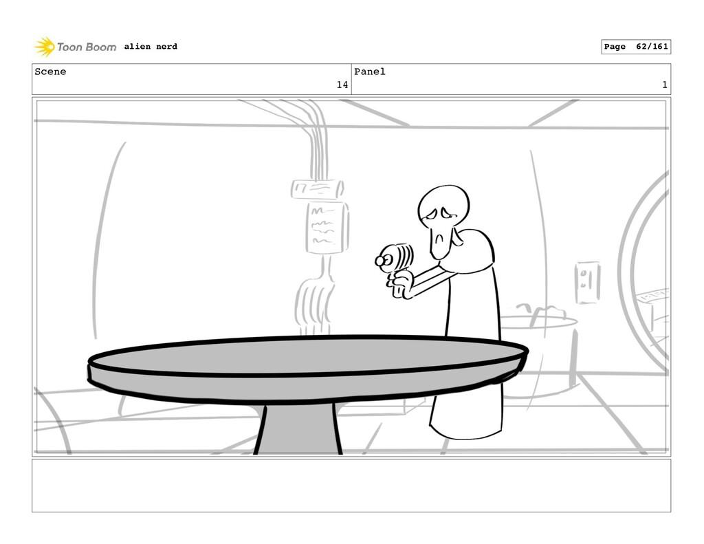 Scene 14 Panel 3 alien nerd Page 64/161