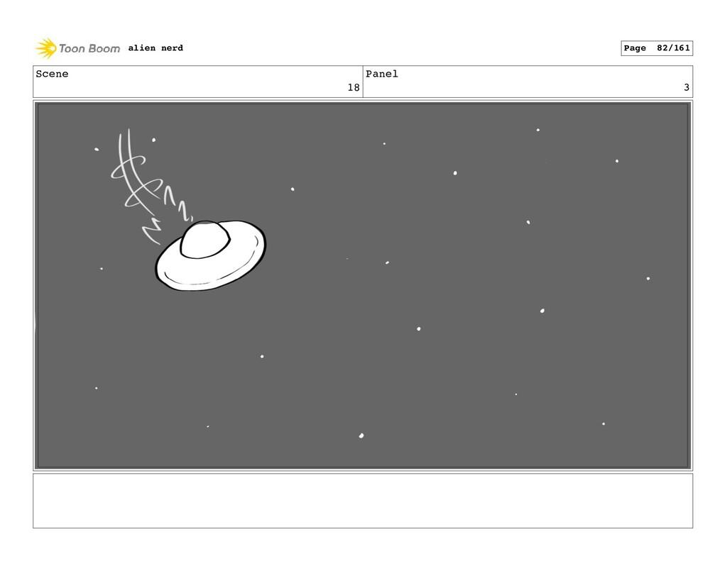 Scene 18 Panel 5 alien nerd Page 84/161