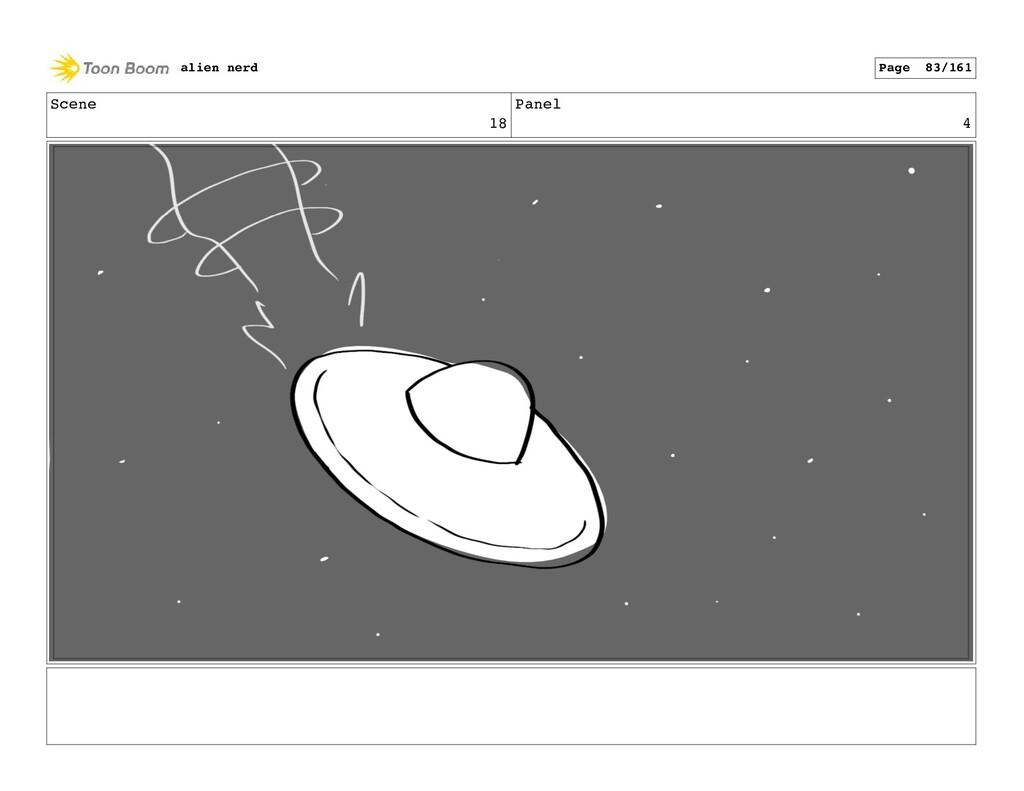 Scene 18 Panel 6 alien nerd Page 85/161