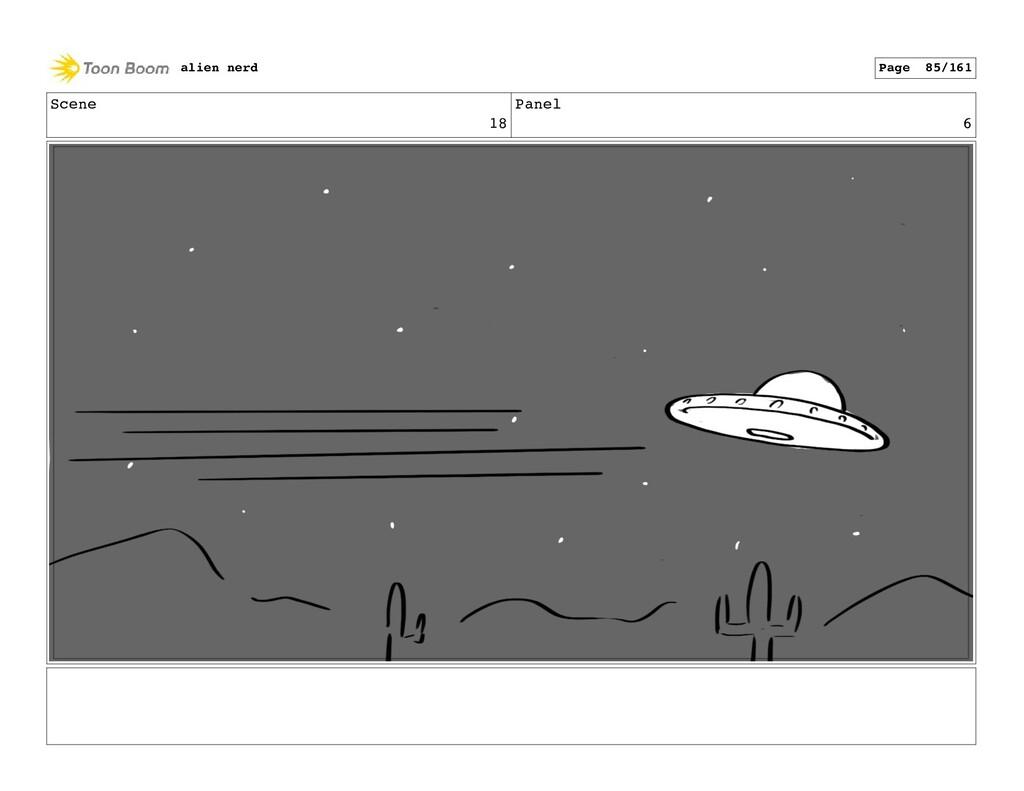 Scene 18 Panel 8 alien nerd Page 87/161