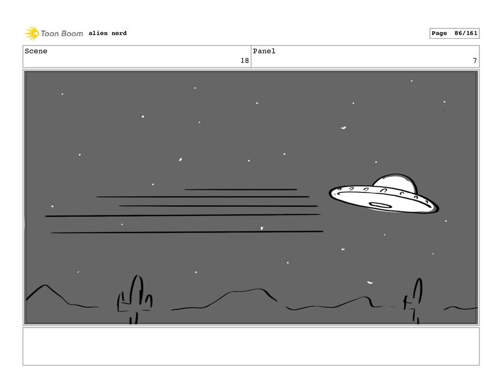 Scene 19 Panel 1 alien nerd Page 88/161