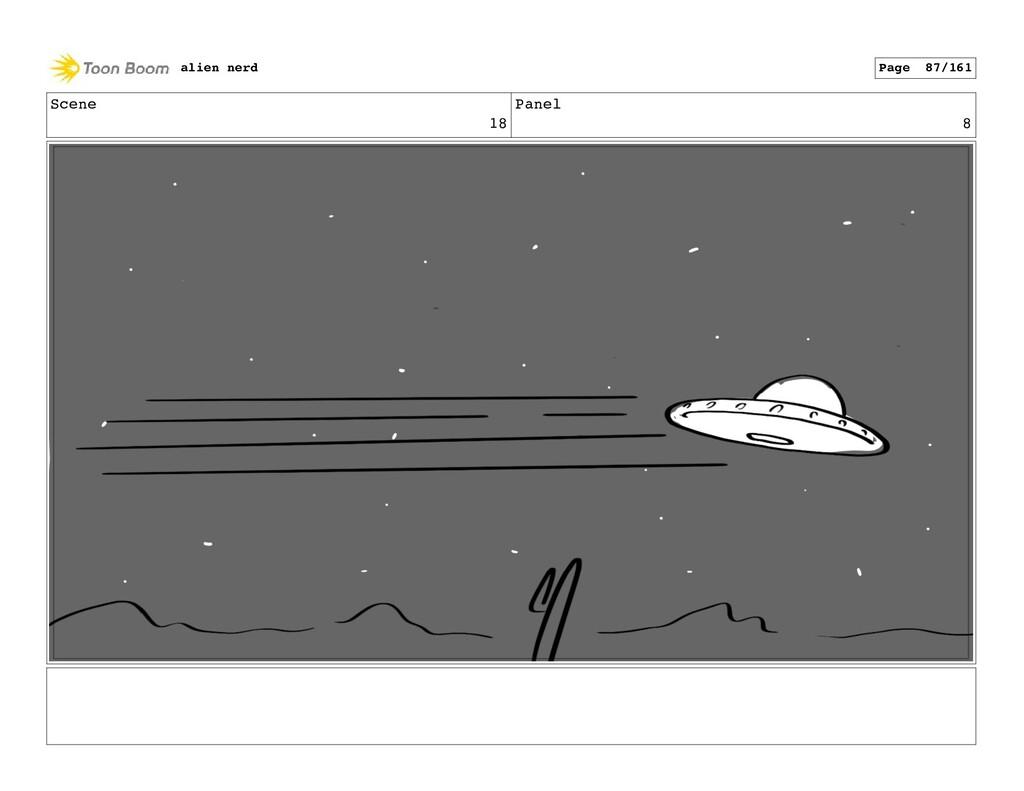 Scene 19 Panel 2 alien nerd Page 89/161