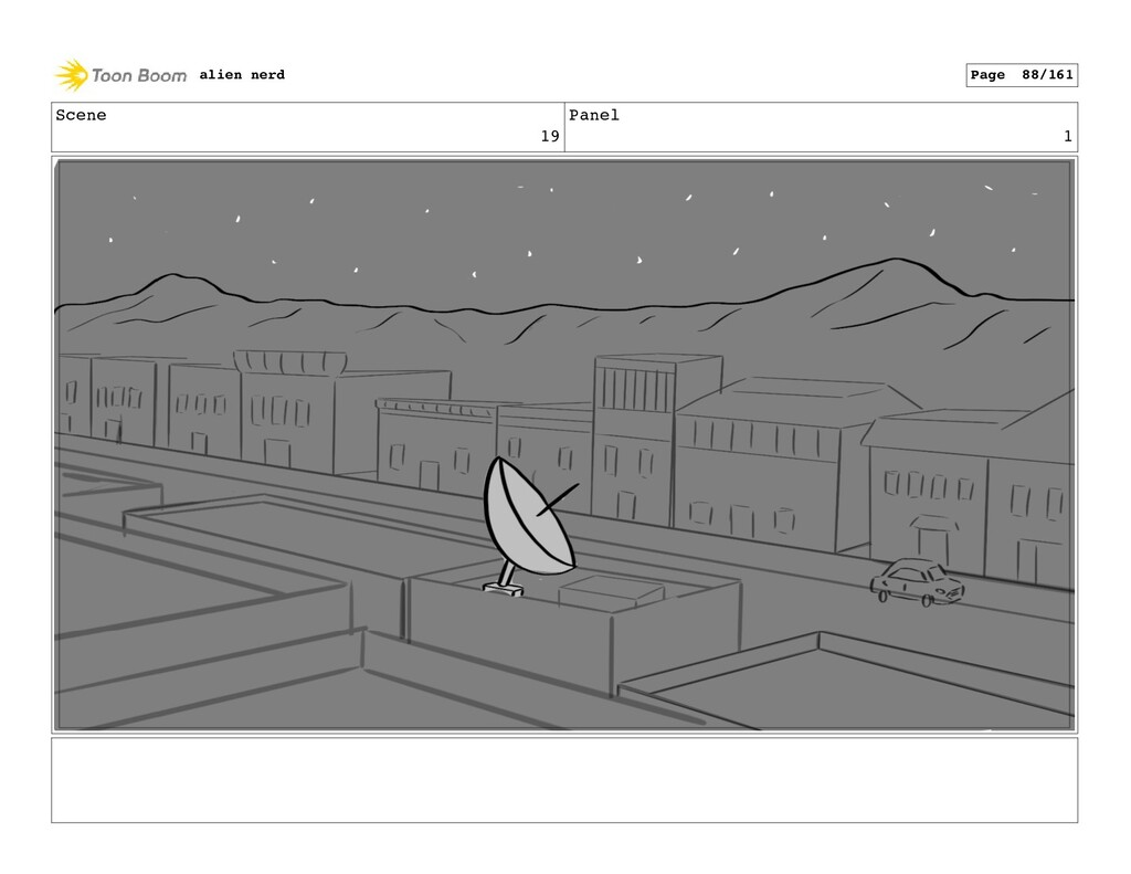 Scene 19 Panel 3 alien nerd Page 90/161