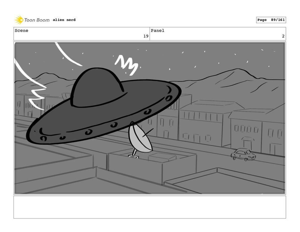 Scene 19 Panel 4 alien nerd Page 91/161