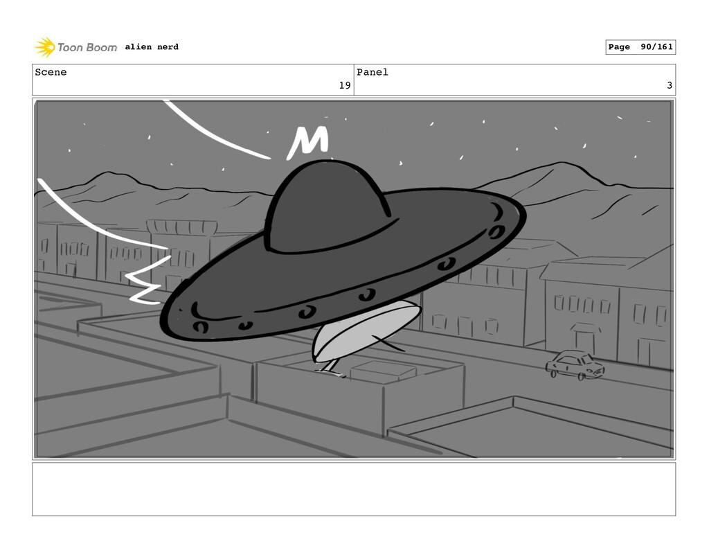 Scene 19 Panel 5 alien nerd Page 92/161