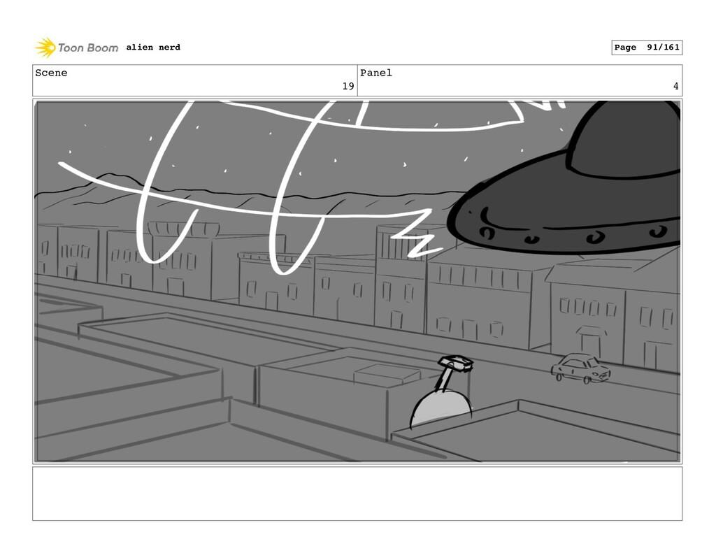 Scene 20 Panel 1 alien nerd Page 93/161