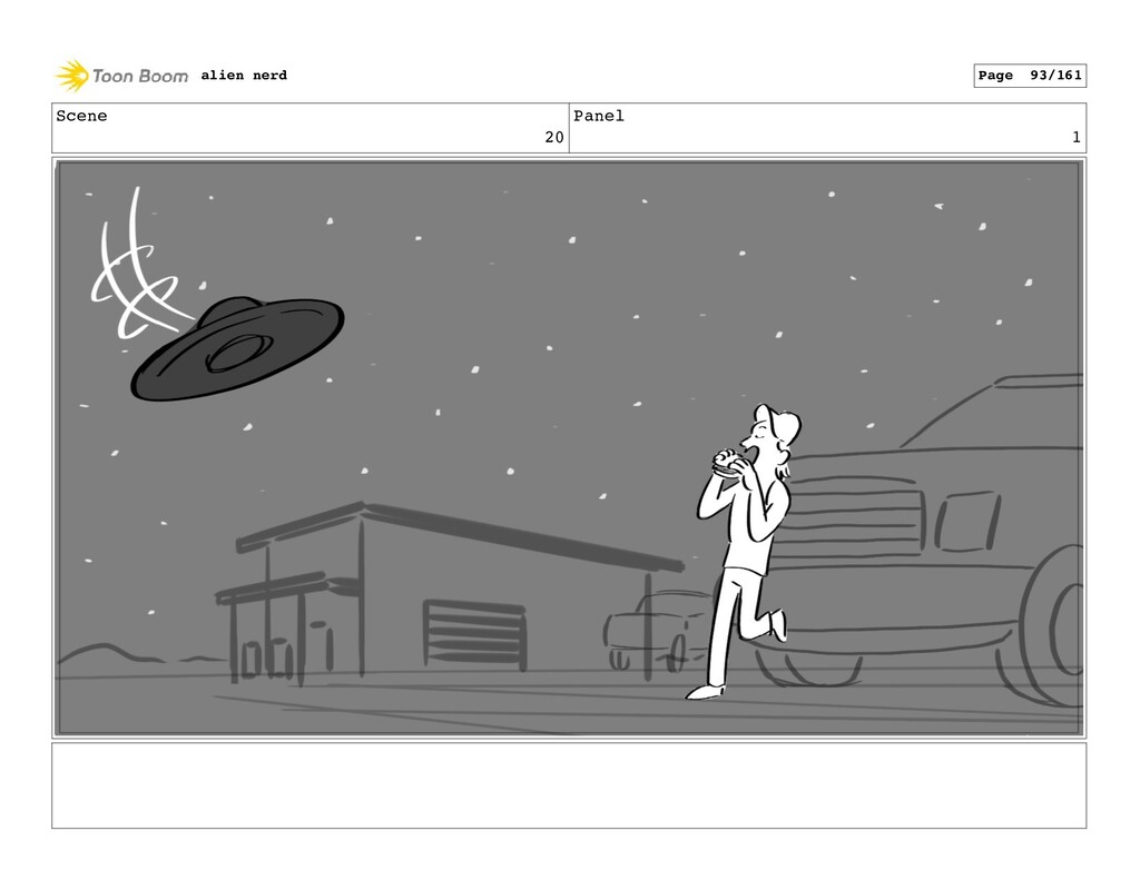 Scene 20 Panel 3 alien nerd Page 95/161