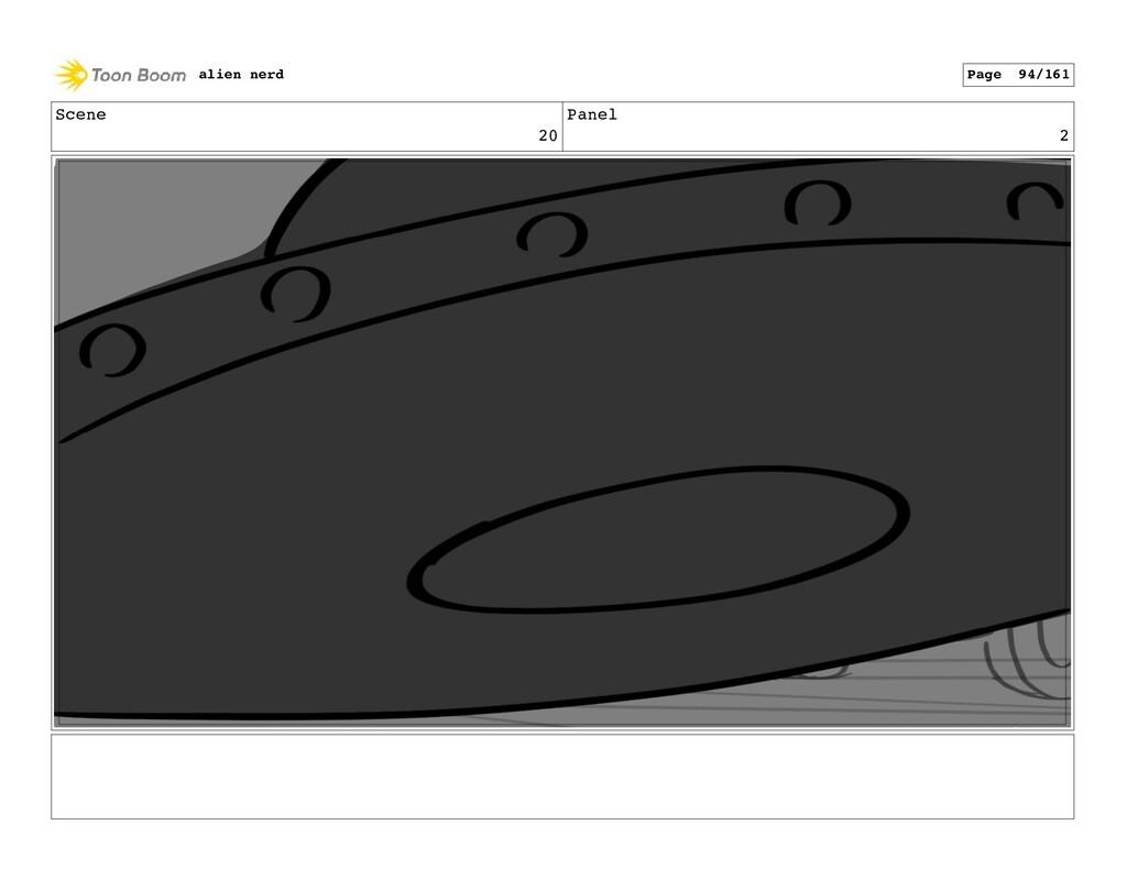 Scene 20 Panel 4 alien nerd Page 96/161