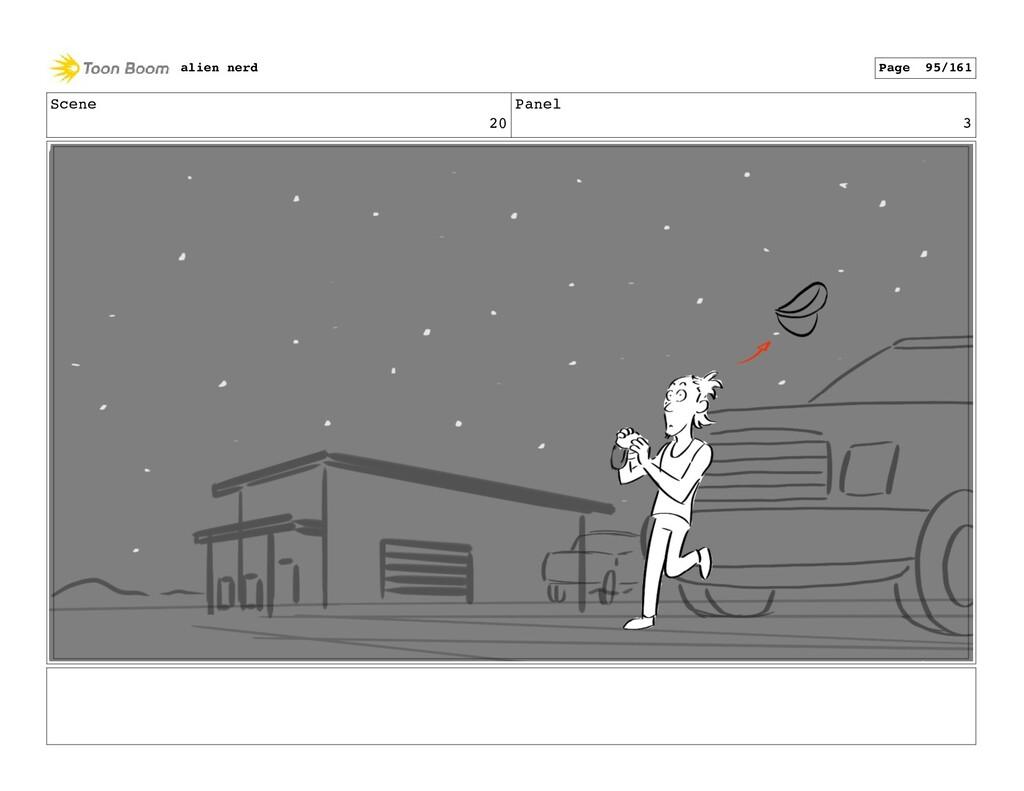 Scene 20 Panel 5 alien nerd Page 97/161