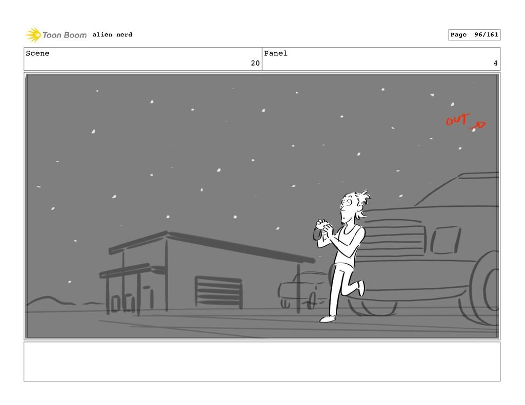 Scene 21 Panel 1 alien nerd Page 98/161