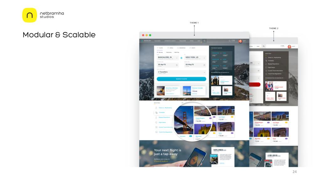 Modular & Scalable 24