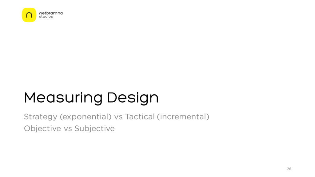 Measuring Design Strategy (exponential) vs Tact...