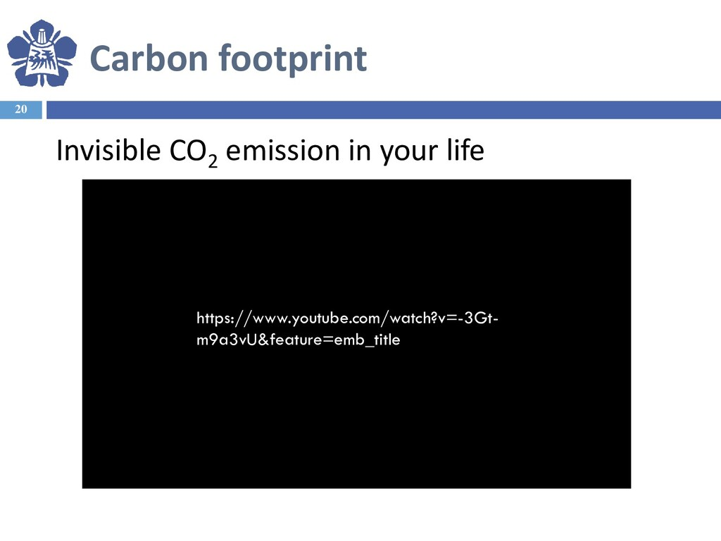 20 Invisible CO2 emission in your life Carbon f...