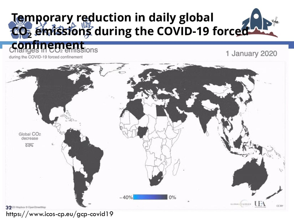 32 Temporary reduction in daily global CO2 emis...