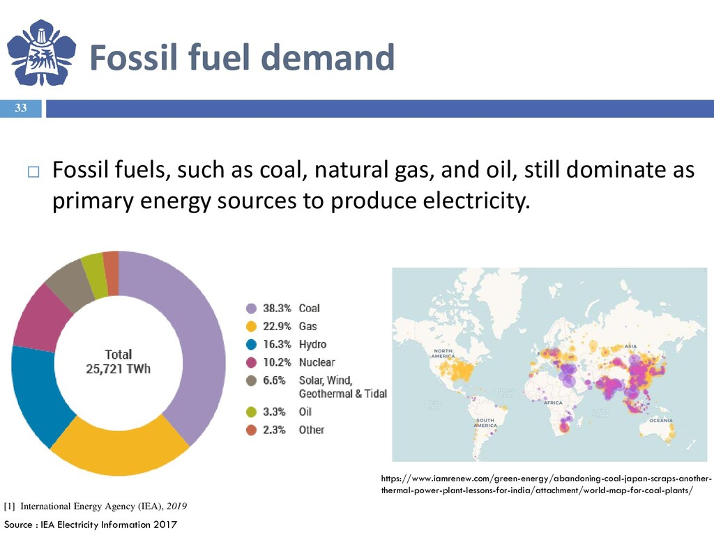 Fossil fuel demand 33  Fossil fuels, such as c...