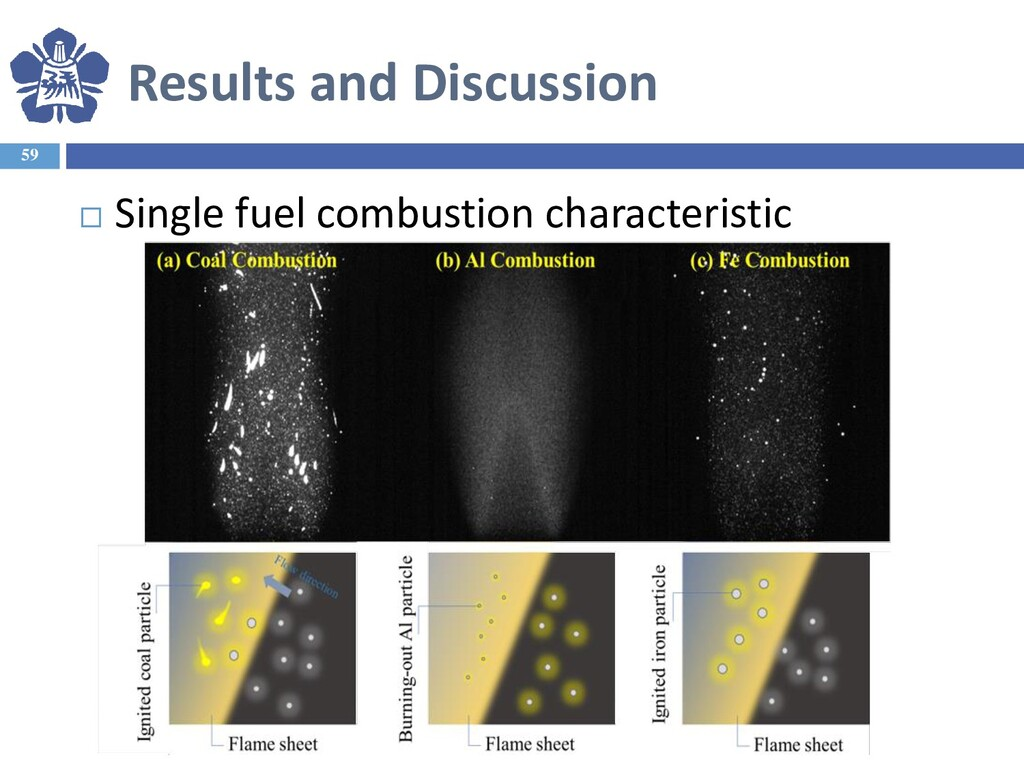 Results and Discussion 59  Single fuel combust...