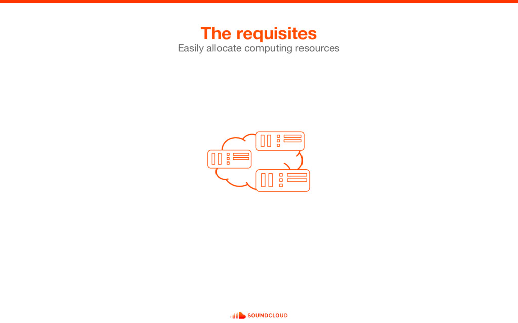 The requisites Easily allocate computing resour...