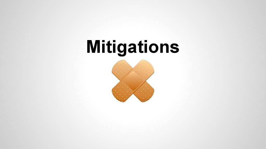 Mitigations