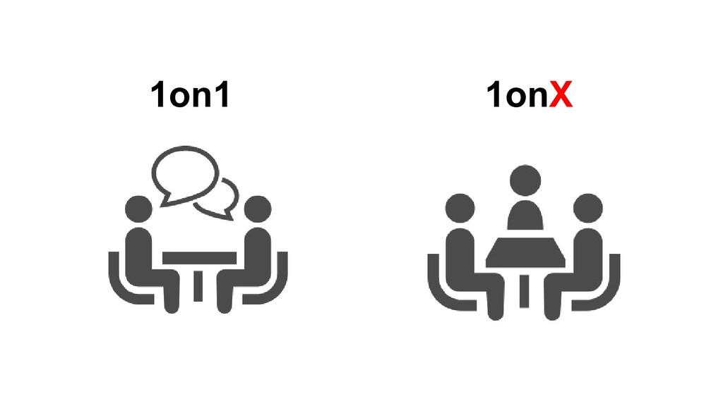 1on1 1onX