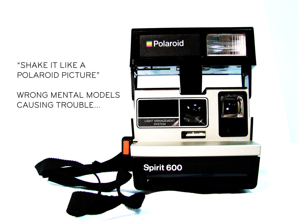 """""""SHAKE IT LIKE A POLAROID PICTURE"""" WRONG MENTAL..."""