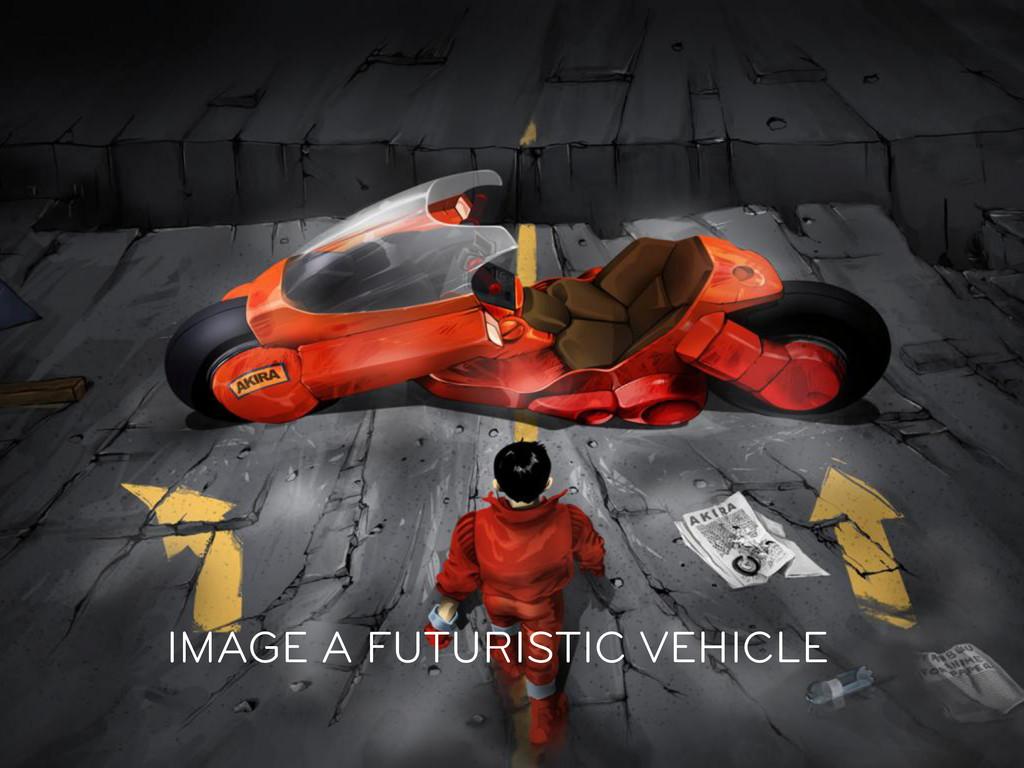 IMAGE A FUTURISTIC VEHICLE